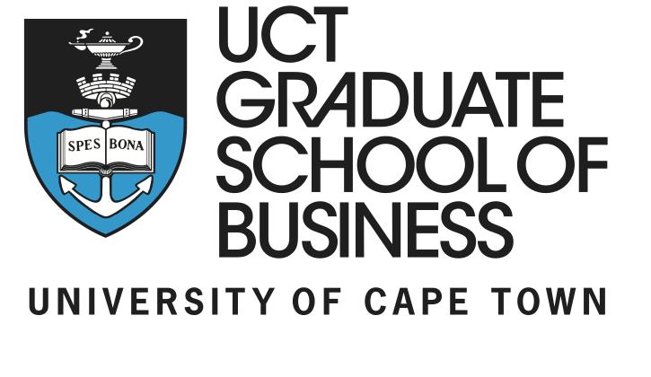 UCT Graduate Scholl of Business Afrique du Sud